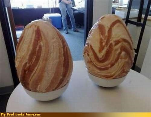 bacon eggs sculpture shaped - 4609141760
