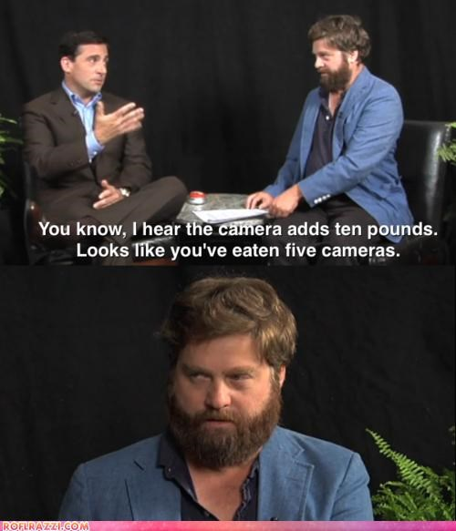 between two ferns funny panel steve carell zack galifianakis - 4609167872