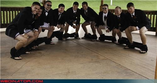 funny wedding photos groom Groomsmen - 4609181952