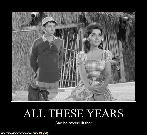 bob denver,demotivational,funny,gilligans-island,TV
