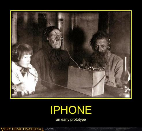 IPHONE an early prototype