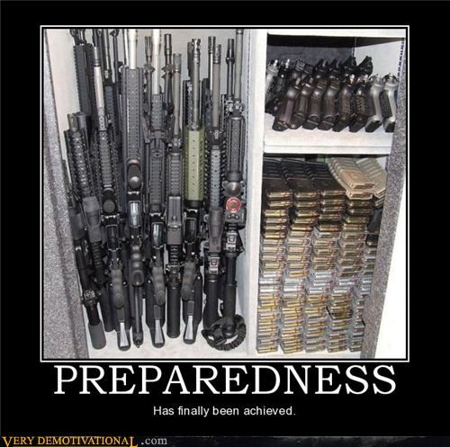 ammo guns prepared wtf