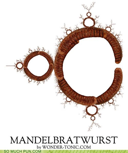 bratwurst fractal literalism malapropism Mandelbrot neologism shape - 4609587712