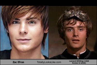 actors,Hall of Fame,leonard whiting,romeo and juliet,zac efron
