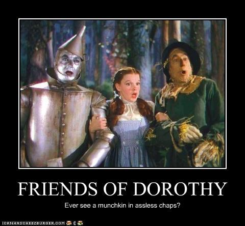 demotivational funny Judy Garland Movie wizard of oz - 4609834240