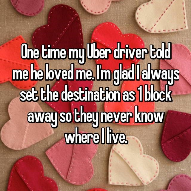 confessions uber tweets funny - 4610053