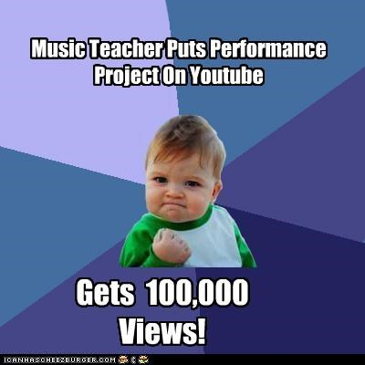 Image of: Funny Memes Cheezburger Image 4610831360 Thumbpress Music Teacher Puts Performance Project On Youtube Gets 100000 Views