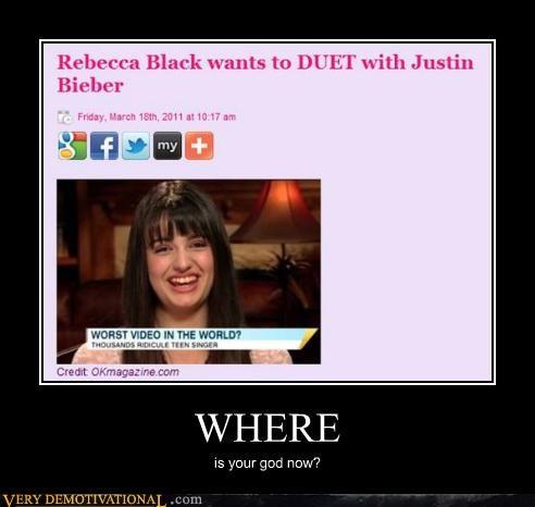 duet,justin bieber,oh god,Rebecca Black