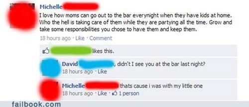 bad parenting,bar,facepalm