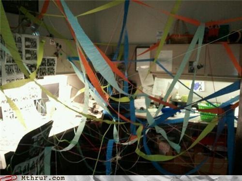 cubicle joke mess prank string - 4611050496