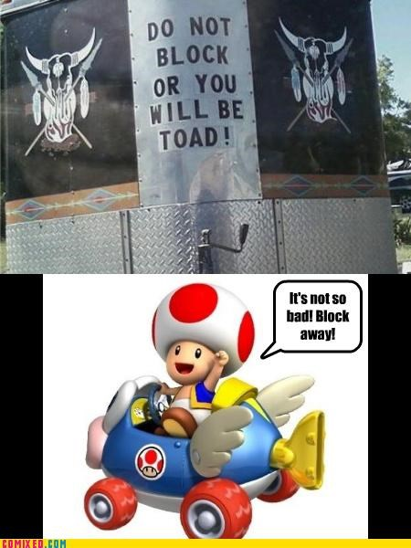 Mario Kart,sign,toad,video games