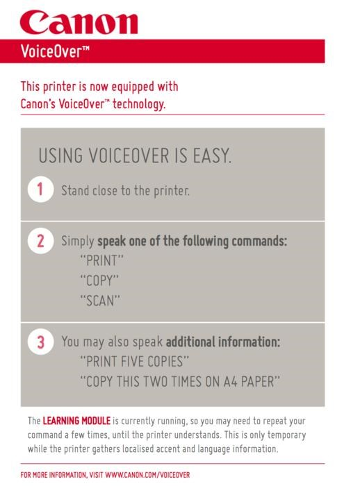 April Fools Day prank Voice Activated Printer - 4611456512
