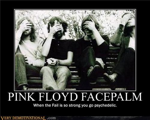 facepalm pink floyd psychedelic - 4611581952