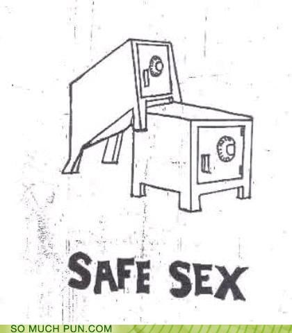 double meaning,Hall of Fame,literalism,safe,safe sex,safes,sex