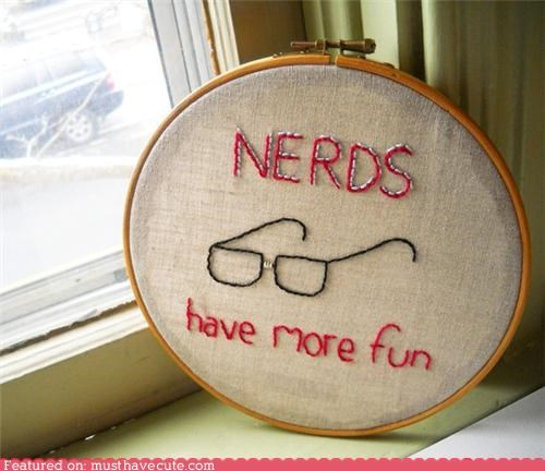 embroidery,fun,glasses,nerdy
