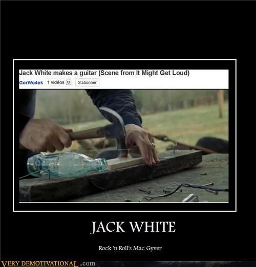guitar,jack white,macguyver