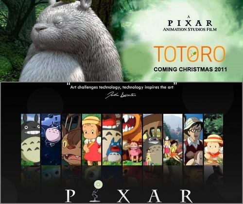 April Fools Day,first look,pixar,totoro