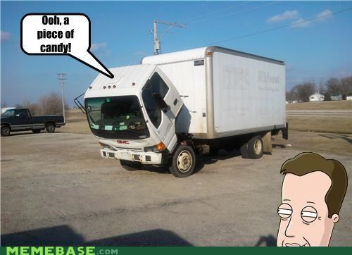 family guy,james woods,piece of candy,Sad Truck