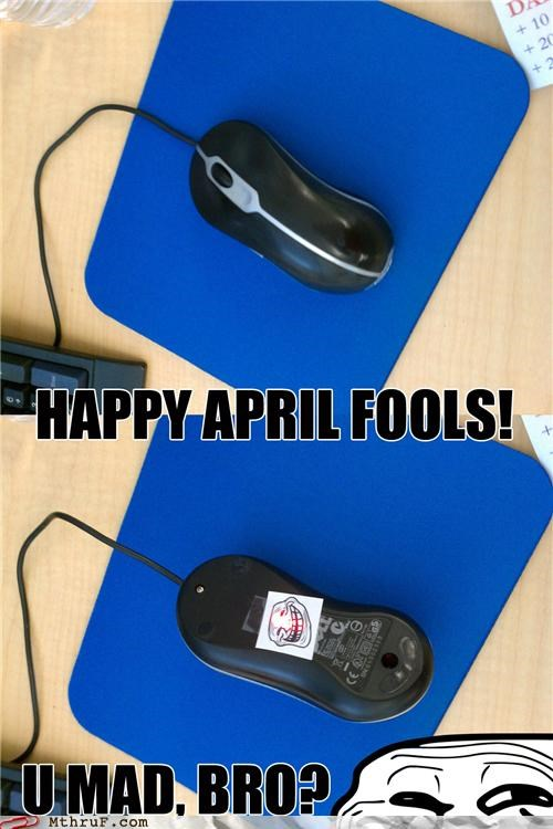 April Fools Day funny mouse prank troll - 4612516352