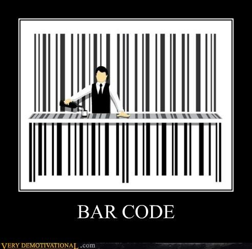 awesome,bar code,pun