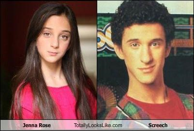 actors Dustin Diamond Jenna Rose saved by the bell Screech singers