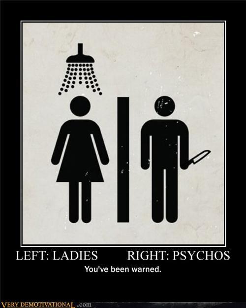 ladies psychos sign warning - 4614093056
