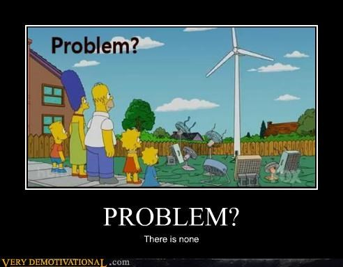 problem simpsons wind power