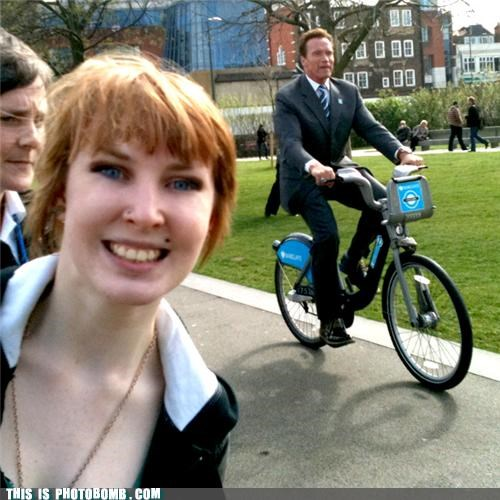 Arnold Schwarzenegger,bike,Celebrity Edition,governator,Governor