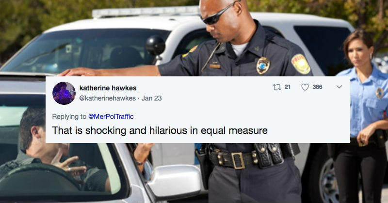 Guy gives the most millennial excuse ever after getting pulled over by a cop.