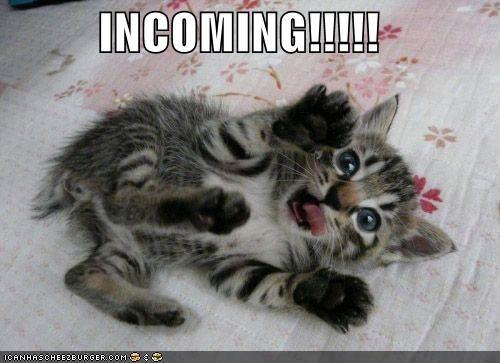 INCOMING!!!!!