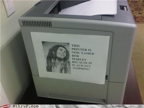 bob marley,jam,paper,paper jam,printer