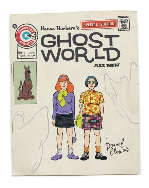 Daniel Clowes,dr-ed,Ghost World,Re-Imagination,scooby doo