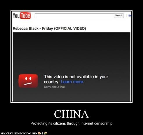 CHINA Protecting its citizens through internet censorship