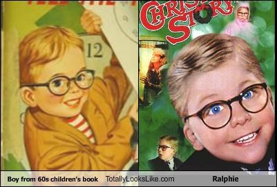 Boy from 60s children's book Totally Looks Like Ralphie
