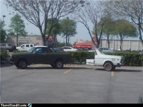 cars its-a-truck-now towing wtf - 4616611072
