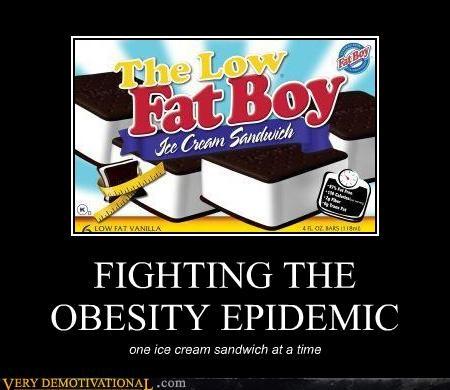 ice cream sandwich low fat - 4617414144