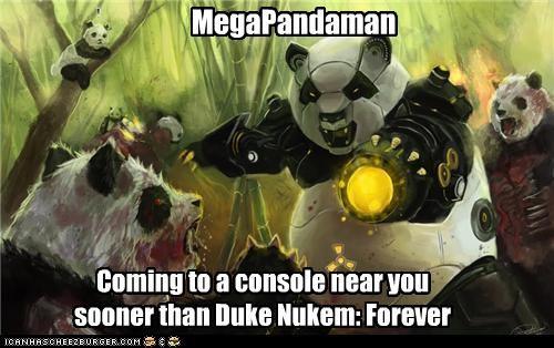 MegaPandaman Coming to a console near you sooner than Duke Nukem: Forever