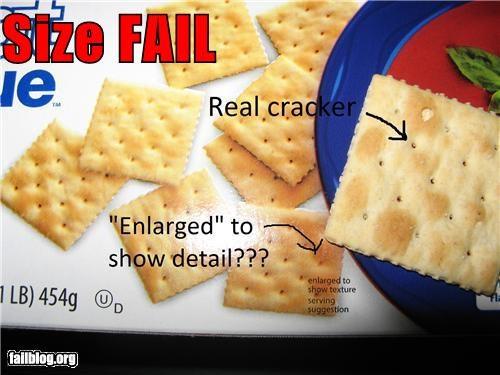 Size FAIL