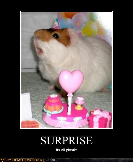 birthday hamster plastic surprise - 4618128128