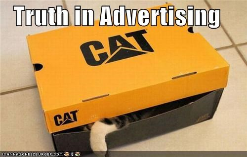 advertising box brand caption captioned cat Hall of Fame hiding truth - 4618435328