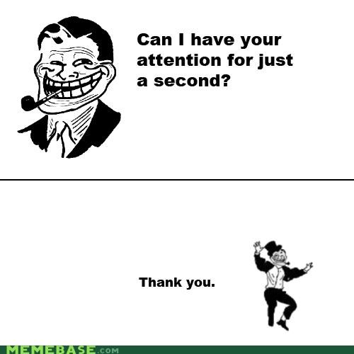 attention hi there Rage Comics troll troll dad - 4619302400
