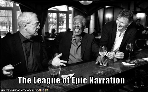 actor celeb funny liam neeson michael caine Morgan Freeman