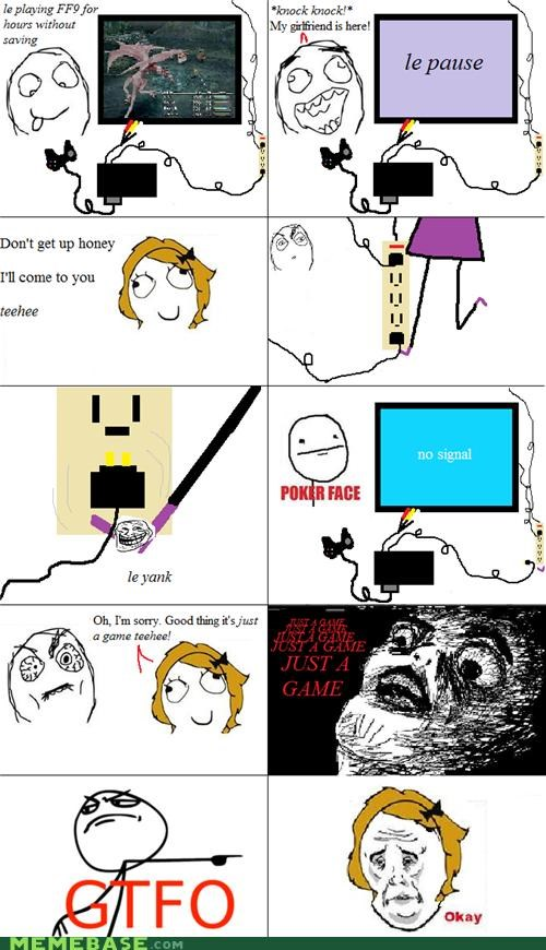 rage Rage Comics unplug video game - 4619617536