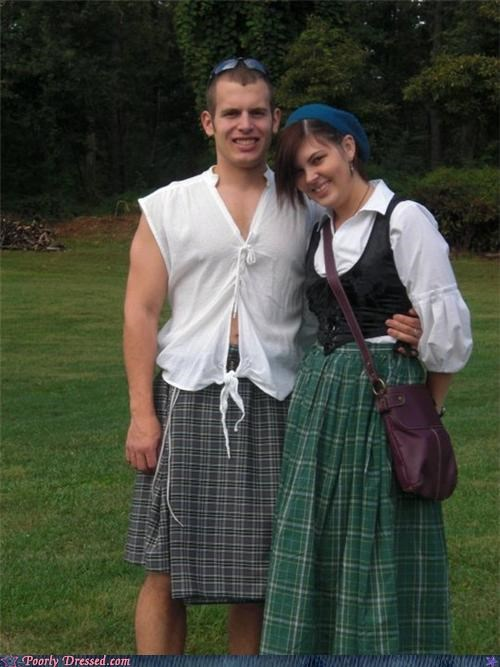 costume,kilt,oakleys,renaissance fair,sunglasses