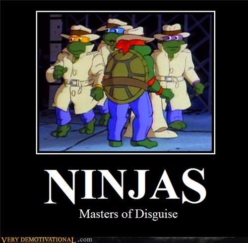 disguise,ninjas,TMNT