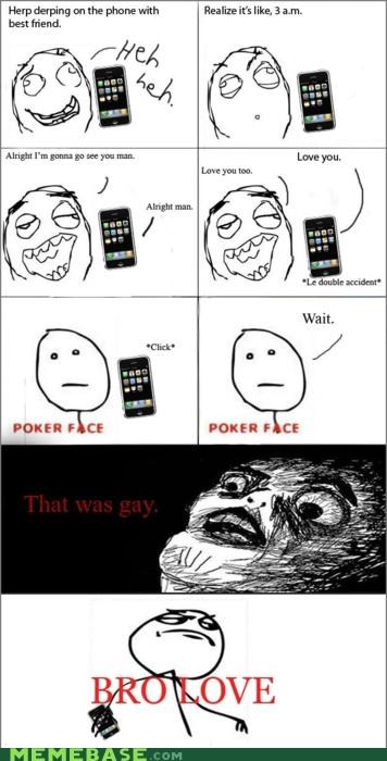 bros gay love phone Rage Comics - 4620847104