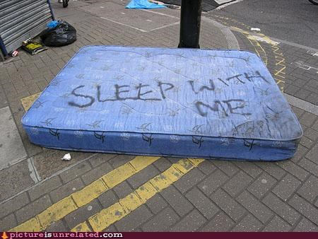 bad idea,mattress,sleep