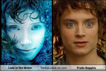 actors,actresses,Bryce Dallas Howard,elijah wood,Frodo Baggins,Lady in the Water,Lord of the Rings,movies