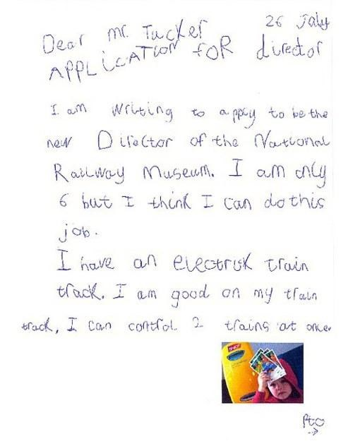 kids these days Letter Of Note National Railway Museum Sam Pointon - 4621174272