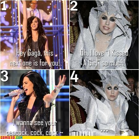 katy perry,lady gaga,stutter